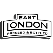 East London Pressed and Bottled Core Sticker in Black