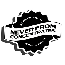 Never From Concentrates Core Sticker in Black