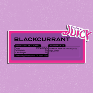 Case of Blackcurrant Soda