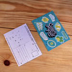 Square Root Lemonade Seed Paper Postcard