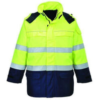 Portwest Flame Resistant Anti-Static Hi-Vis Sweatshirt FR72