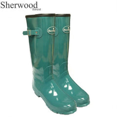 Sherwood Forest Linton Gloss Ladies Wellingtons - Pool