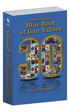 Blue Book of Gun Values, 30th Edition - reid outdoors