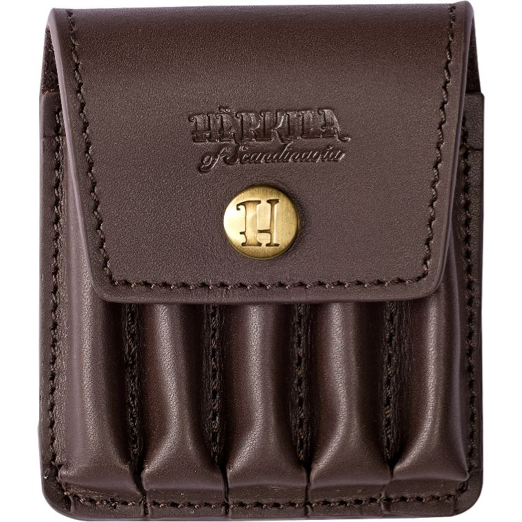 Harkila Rifle cartridge pouch in Leather
