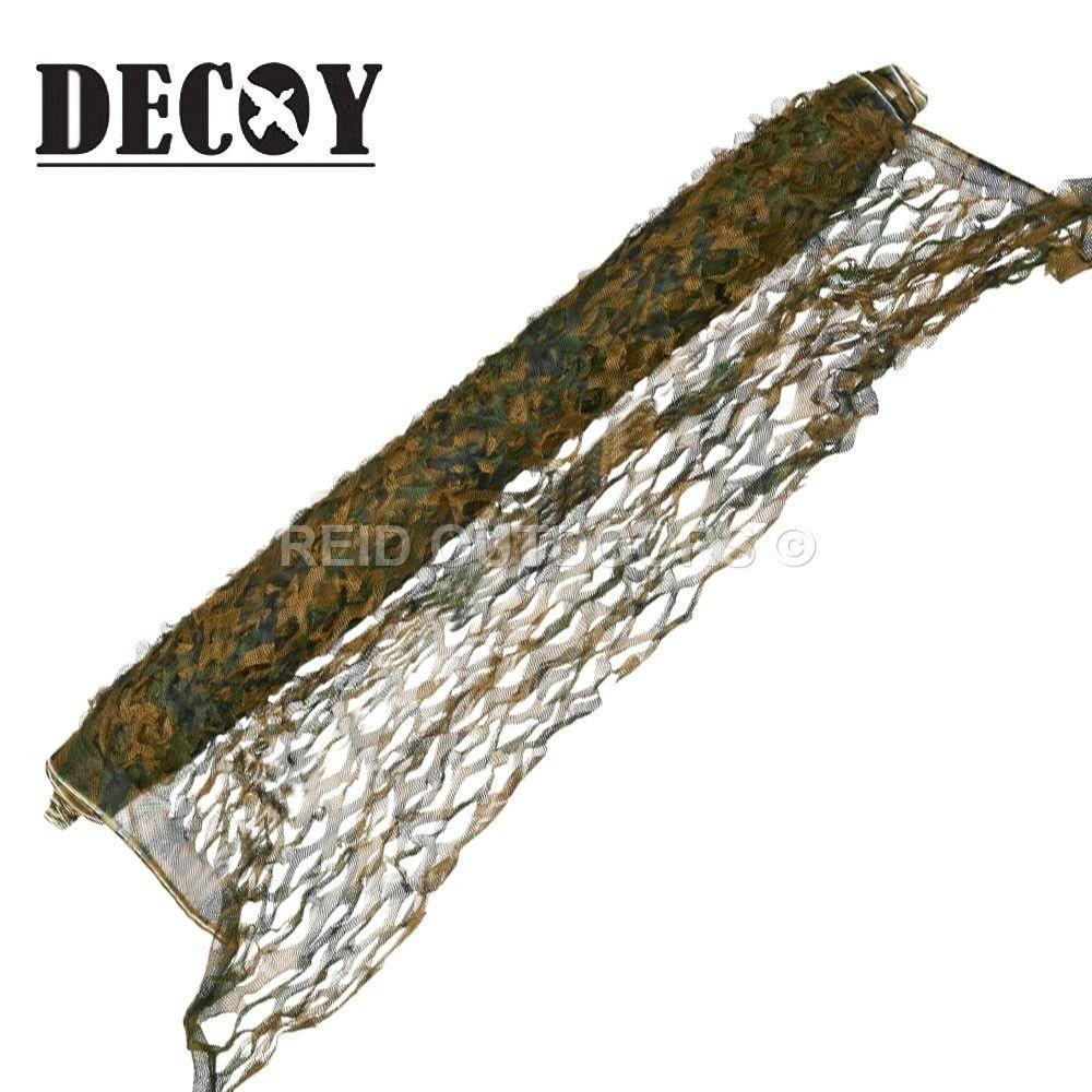 DECOY FOREST CAMOUFLAGE NET 1.5 X 50M - reid outdoors