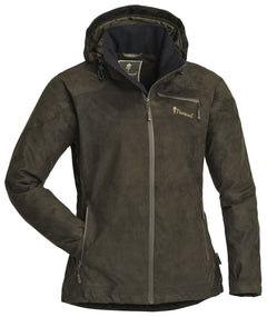 PINEWOOD LADIES GROUSE SUEDE JACKET - SUEDE BROWN