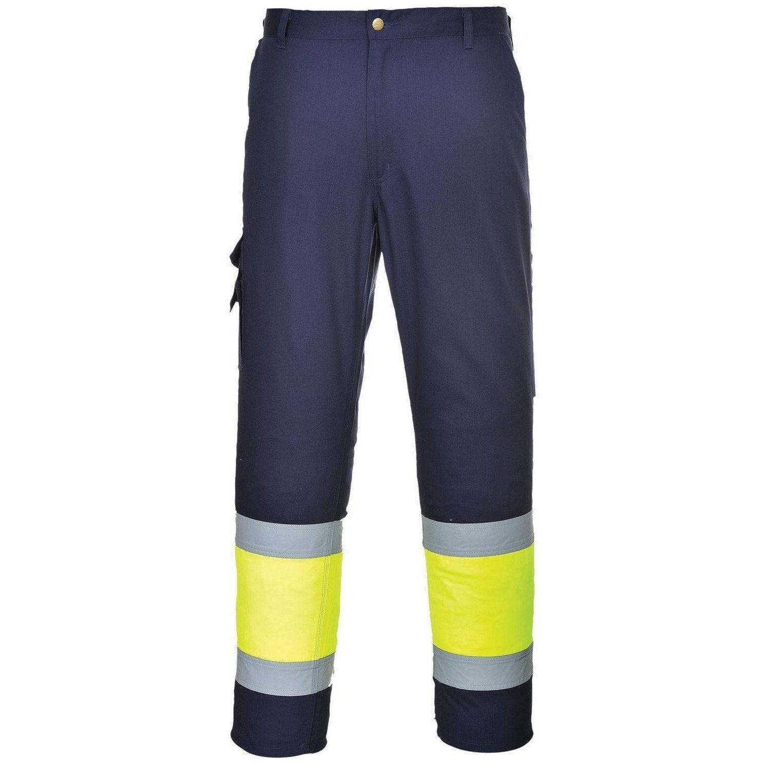 Portwest Hi-Vis Two Tone Combat Trousers E049 - reid outdoors