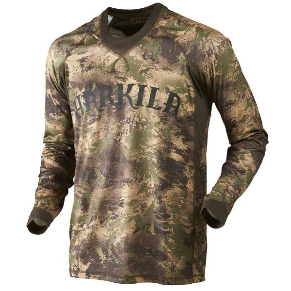 Harkila Lynx L/S T-Shirt - AXIS MSP Forest Green
