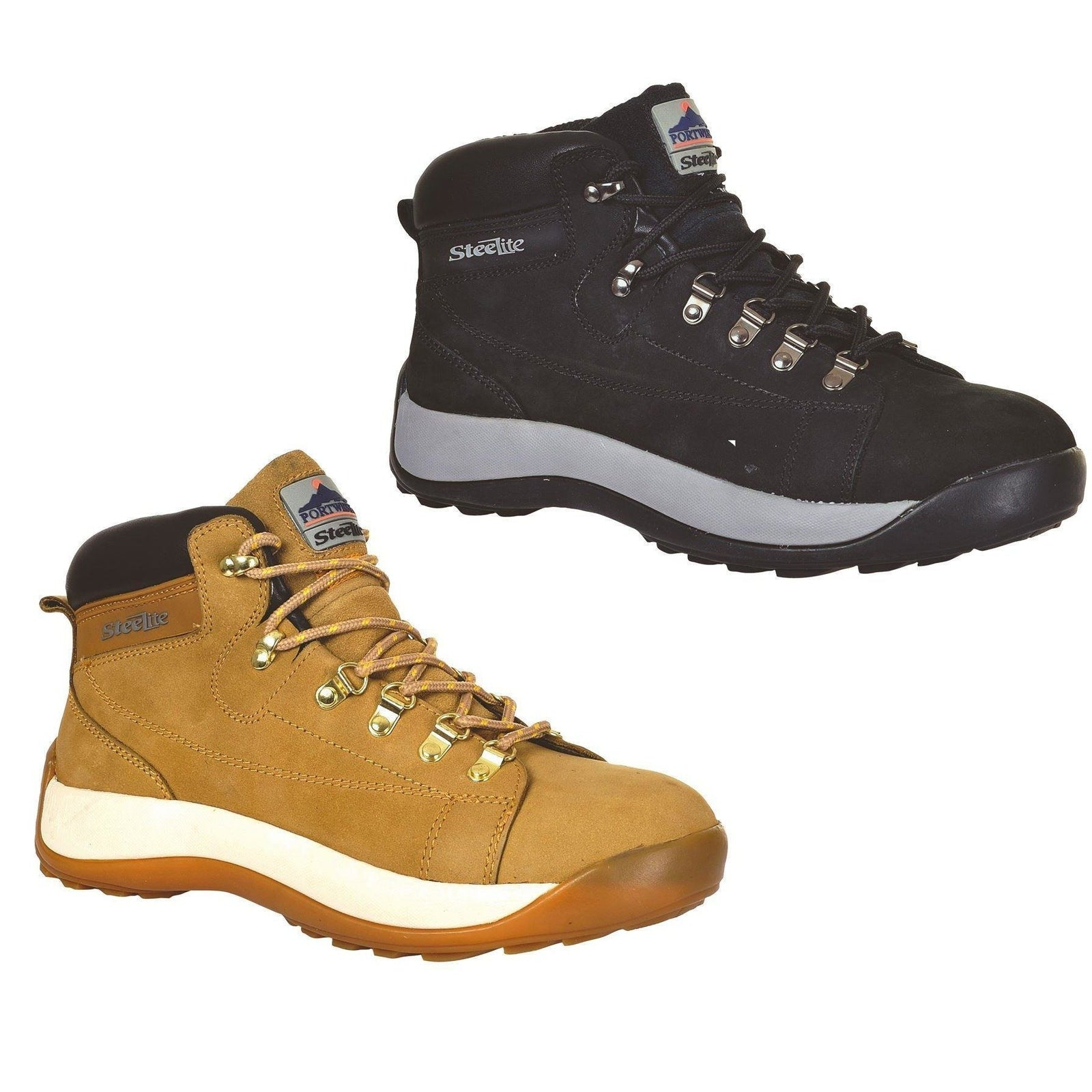 Portwest Steelite Mid Cut Nubuck Boot SB HRO FW31 - reid outdoors