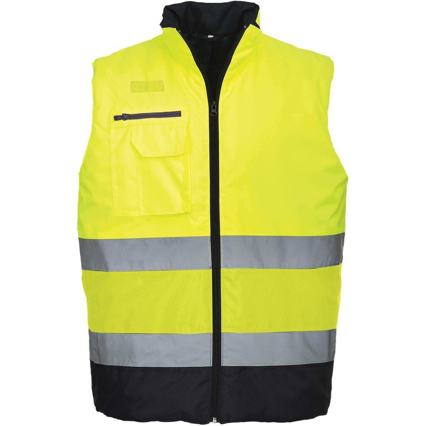 Portwest Hi-Vis Two Tone Bodywarmer S267 - reid outdoors