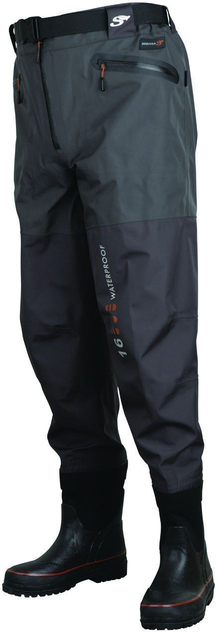 Scierra X-16000 Waist Wader Boot Foot Cleated - reid outdoors
