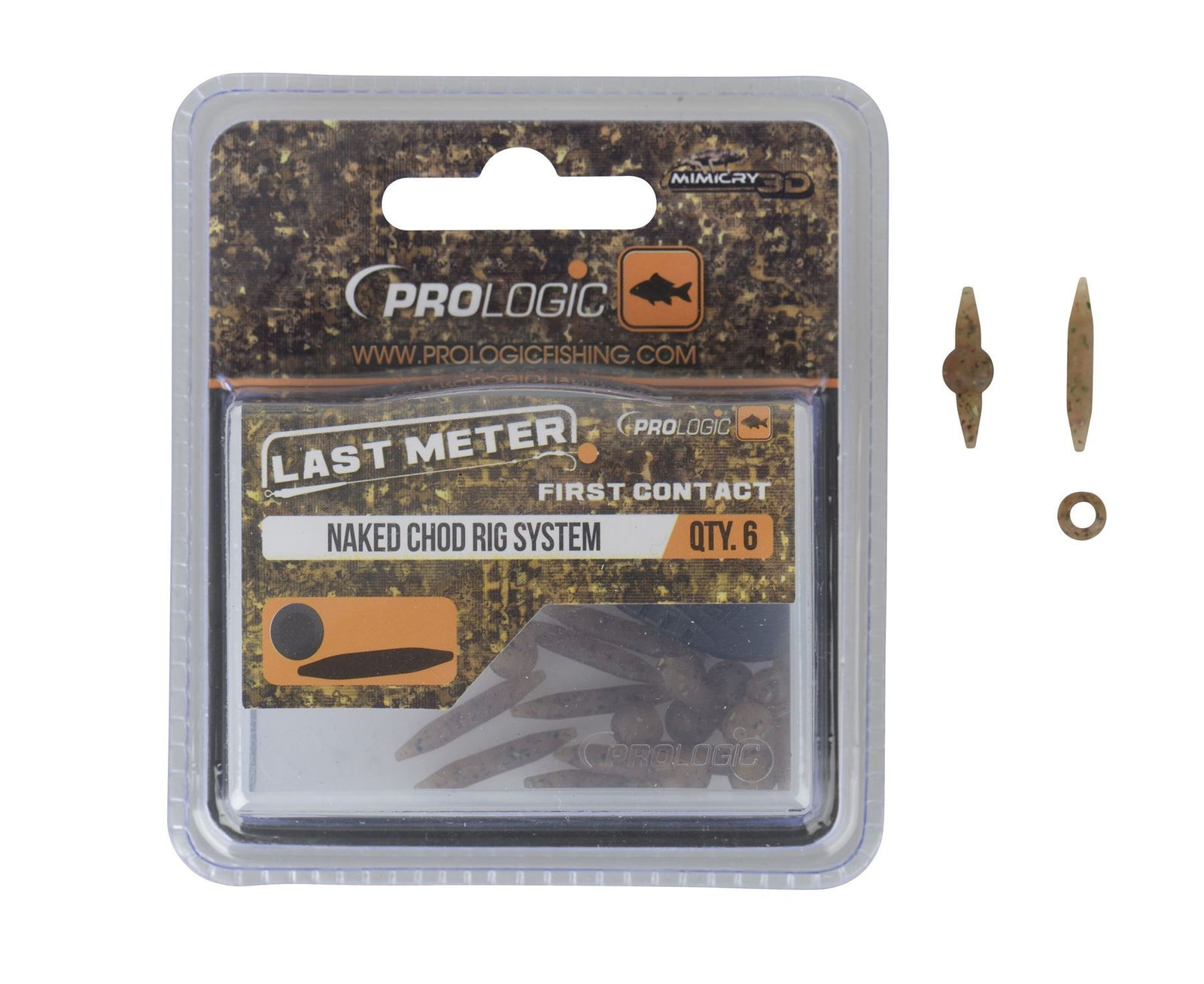 Prologic LM Mimicry Naked Chod Rig System 10pcs - reid outdoors
