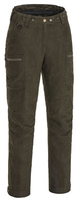 PINEWOOD LADIES RESWICK SUEDE TROUSERS - SUEDE BROWN