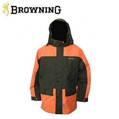 Browning X Treme Tracker 2 Parka Green Blaze Size 3XL - reid outdoors