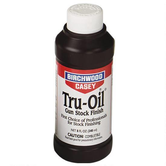 Birchwood Casey Tru-Oil Gun Stock Finish 8 Ounce Bottle - reid outdoors