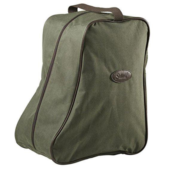 Seeland Boot Bag - Green/Brown
