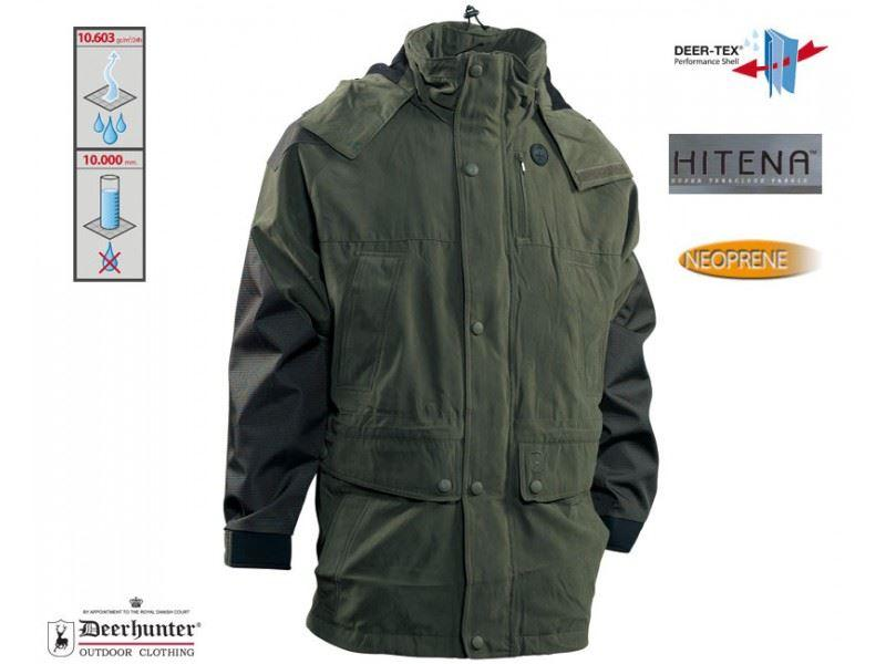 Deerhunter Smallville 2.g Jacket Hitena Reinforced - Deep Cypress Green - UK Size 36 / EU 46 - reid outdoors