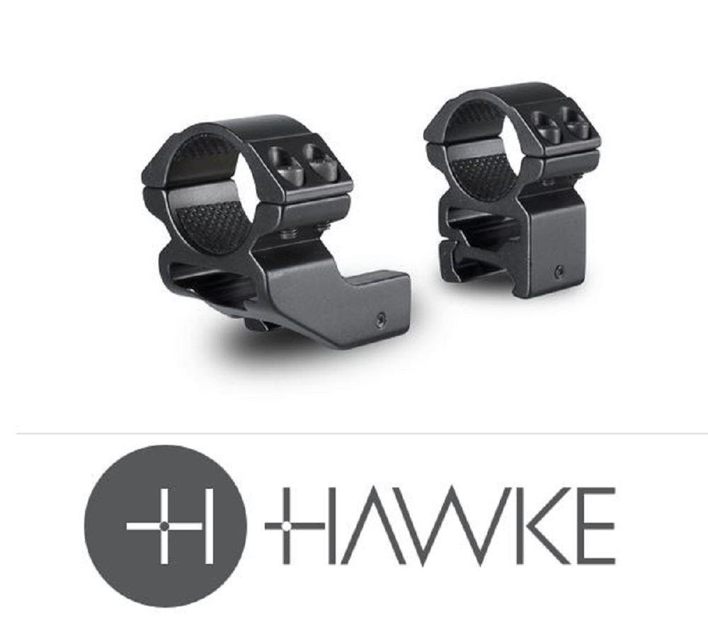 "Hawke 1"" Reach Forward 1"" 2 Piece Weaver High - reid outdoors"