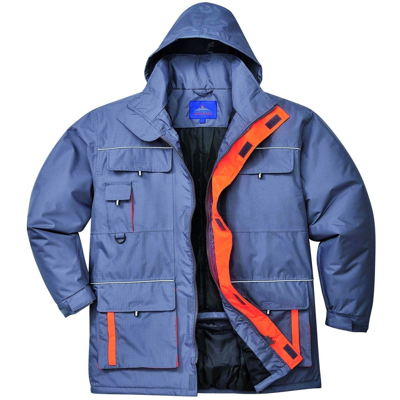 Portwest Texo Contrast Rain Jacket TX30 - reid outdoors