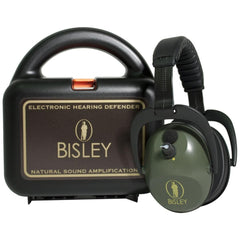Bisley Active Electronic Hearing Protection with hard case - reid outdoors