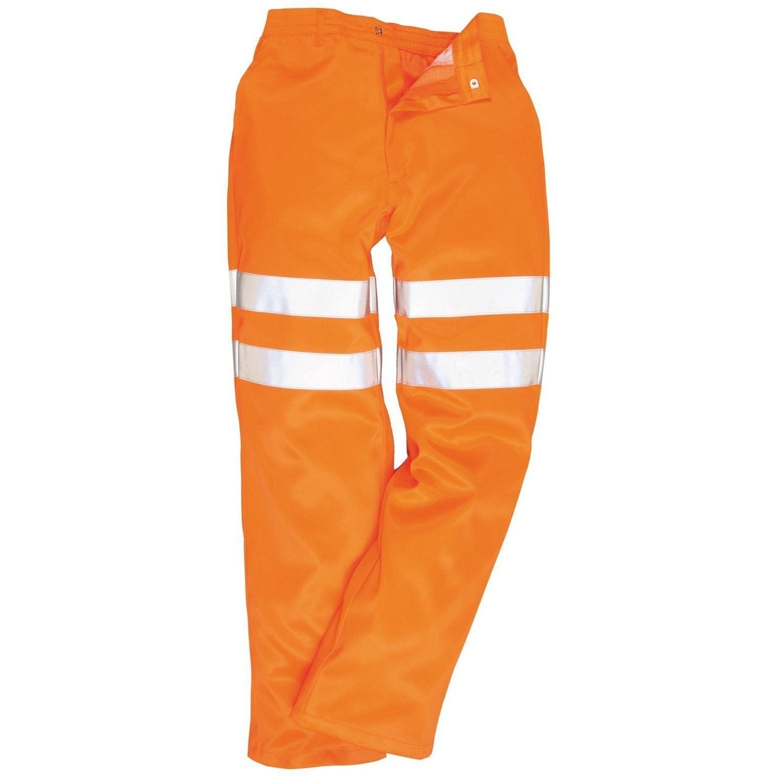 Portwest Hi-Vis Poly-cotton Trousers GO/RT RT45 - reid outdoors