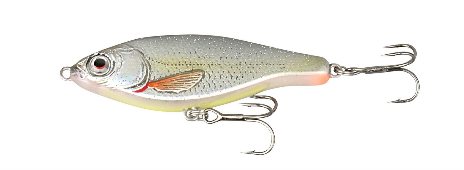 SAVAGE GEAR 3D Roach Jerkster 63 6.3cm 8g SS 01-Roach lure - reid outdoors