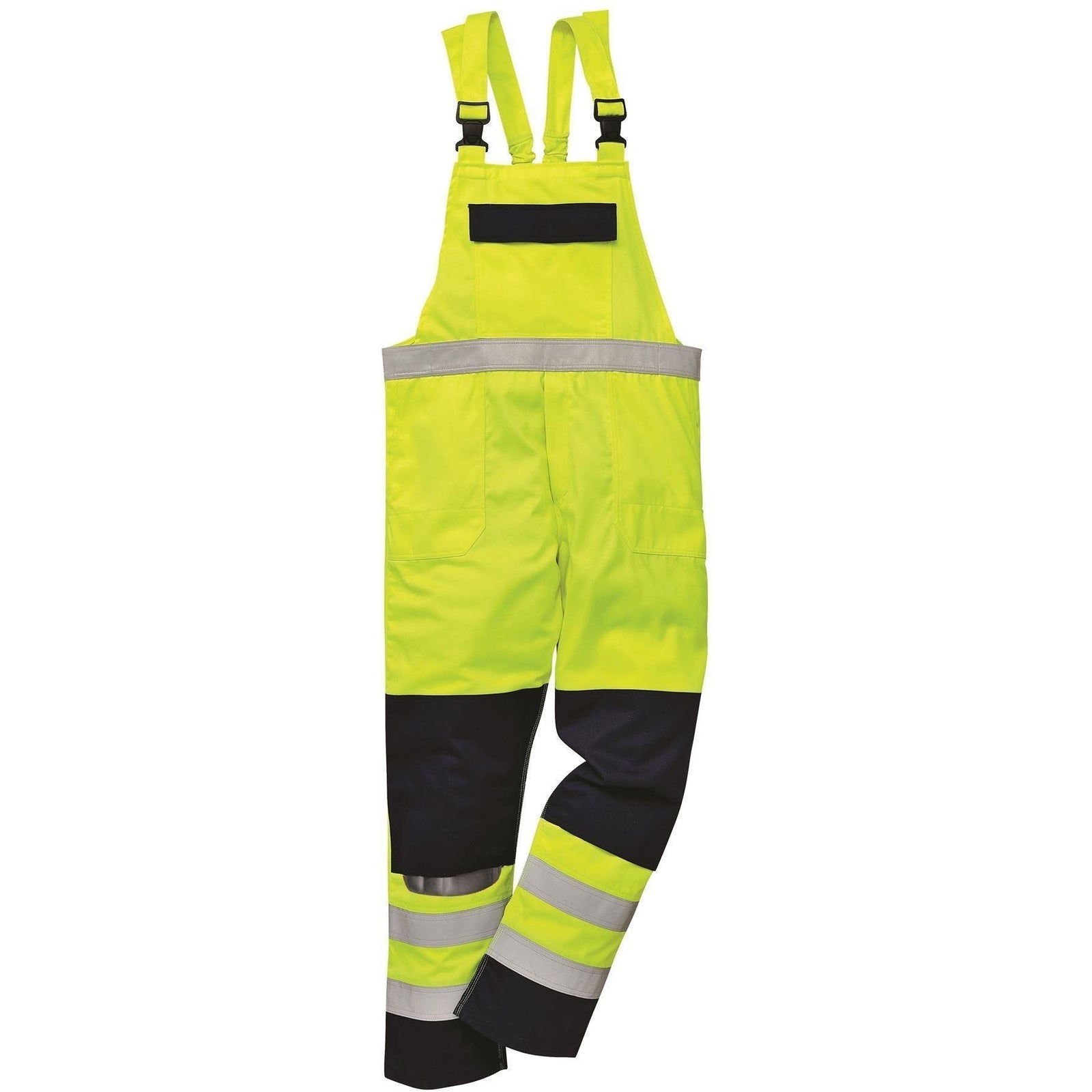 Portwest Hi-Vis Multi-Norm Bib and Brace FR63 - reid outdoors
