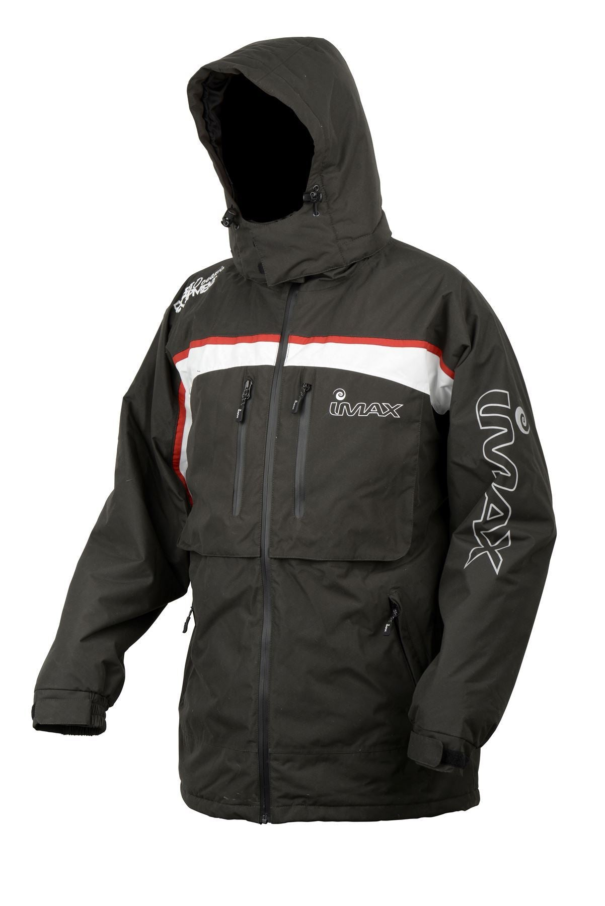 Imax Ocean Thermo Jacket Grey/Red - reid outdoors