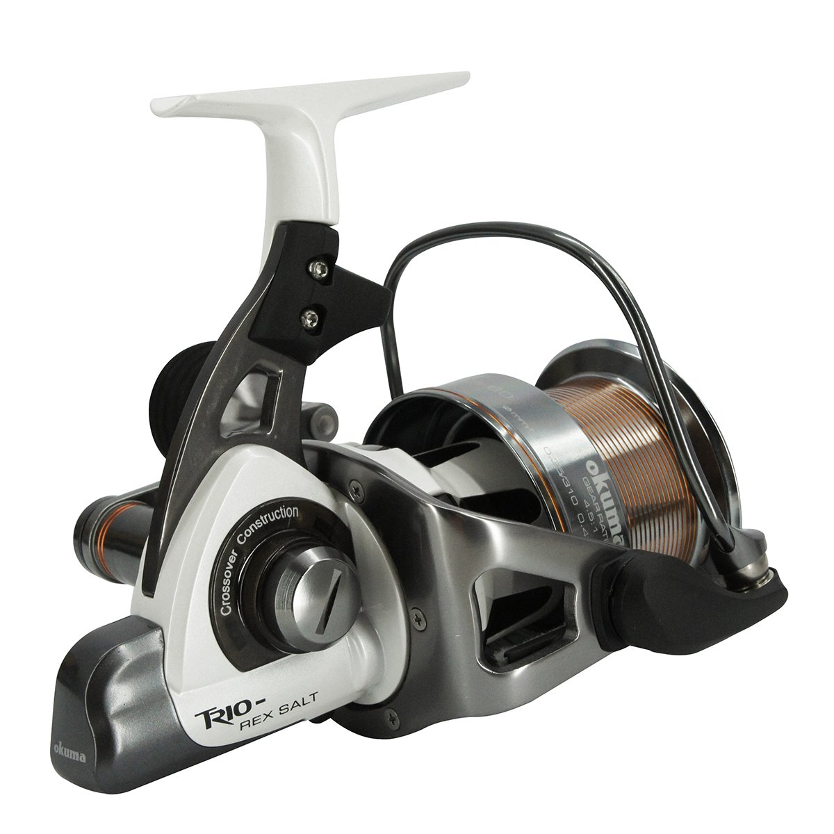Okuma Trio Rex Salt-TXS-60  FD 6+1bb Carp/Surf Reel - reid outdoors