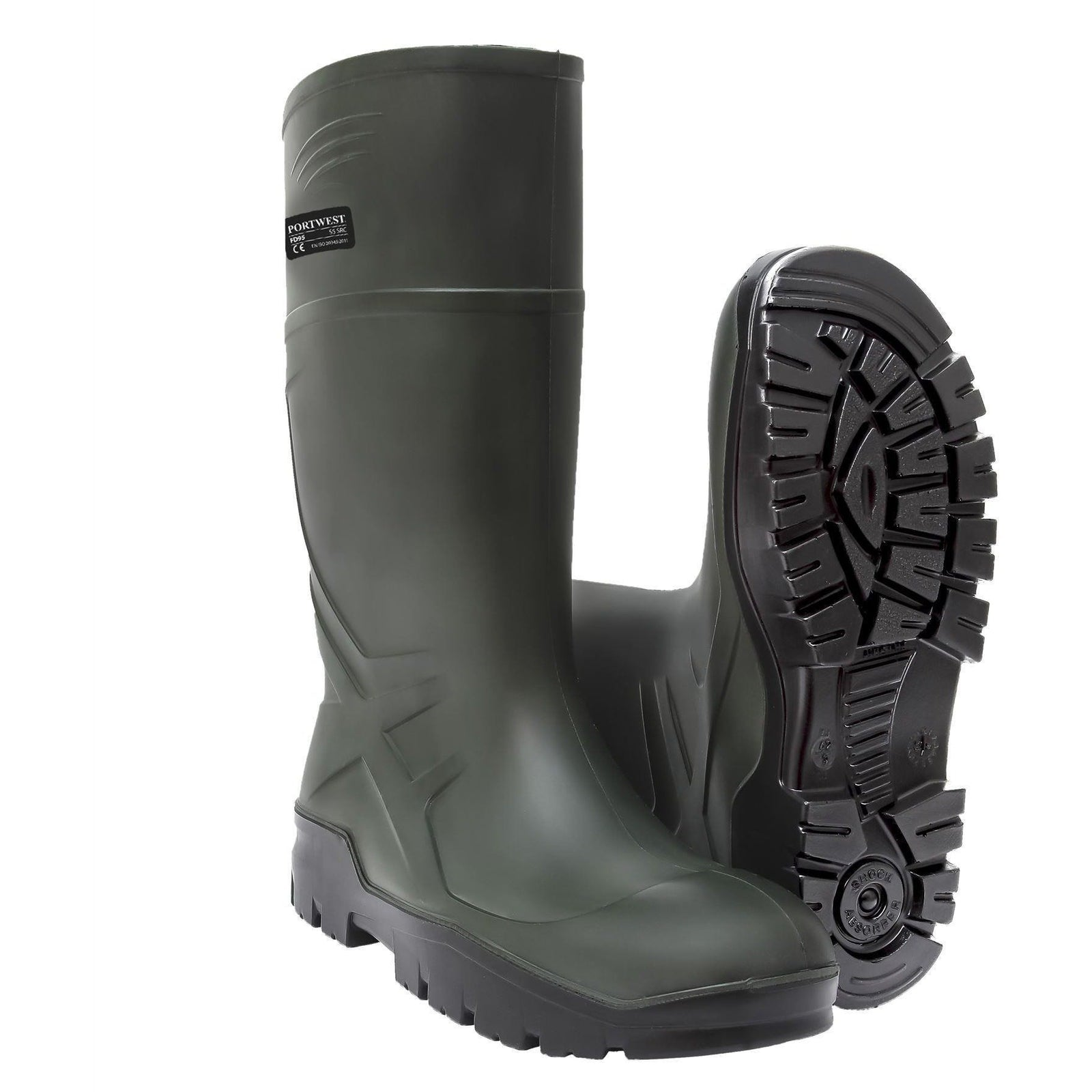 Portwest PU Non Safety Wellington O4 CI FO FD90 - reid outdoors