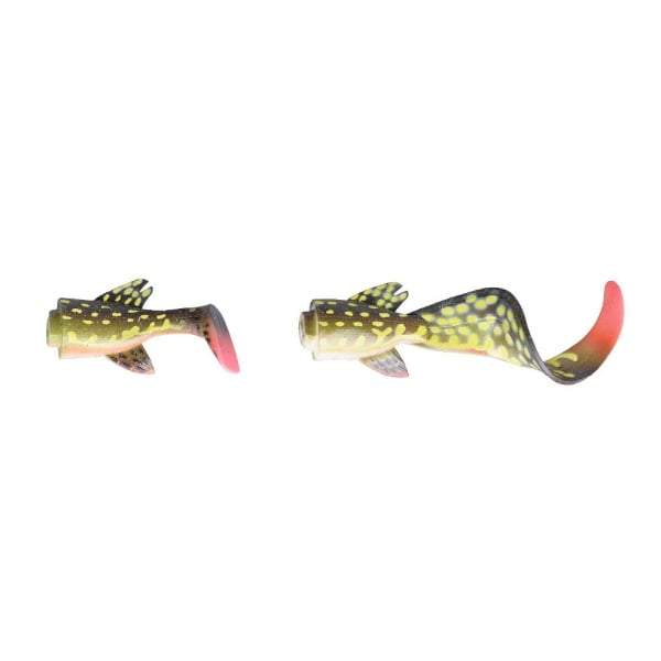 SAVAGE GEAR 3D LB Hybrid Pike 17cm Spare Tail Kit 02-Yellow Pike lure - reid outdoors