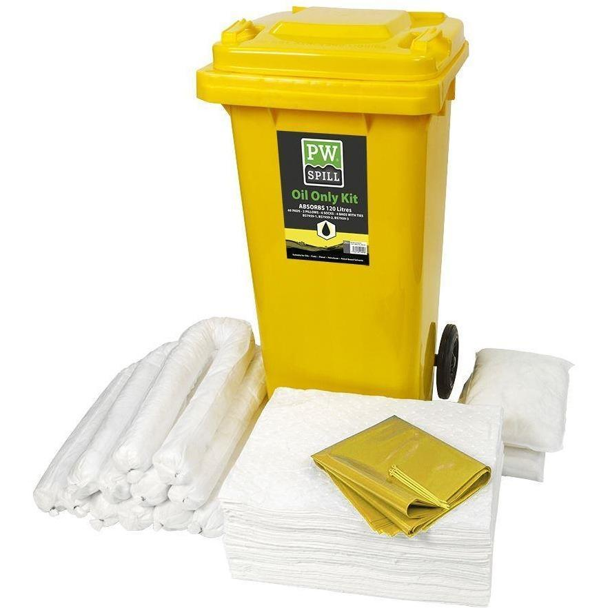 Portwest PW Spill 120 Litre Oil Only Kit  SM63 - reid outdoors