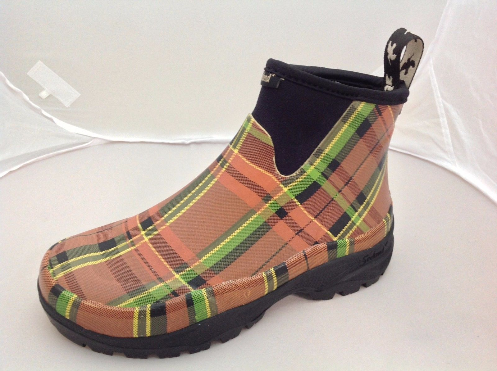"Seeland Rainy Lady 6.5"" Waterproof Rubber Ankle Boots - reid outdoors"