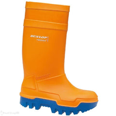 Thermo Plus Orange Safety Wellies - reid outdoors
