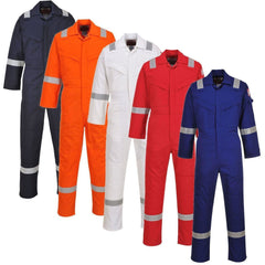 Portwest Flame Resistant Anti-Static Coverall 350g FR50 - reid outdoors