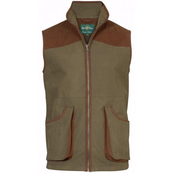 ALAN PAINE BERWICK MENS WATERPROOF SHOOTING WAISTCOAT