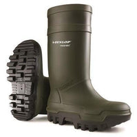 Dunlop Purofort Yellow wellies Safety Steel Toe Wellington Boot