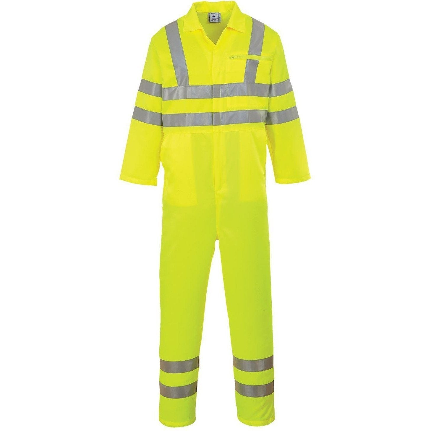 Portwest Hi-Vis Poly-cotton Coverall E042 - reid outdoors