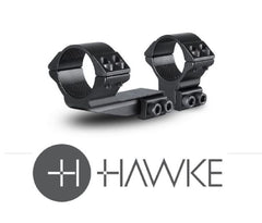 "Hawke 2"" Reach Forward 30mm 2 Piece 9-11mm High - reid outdoors"