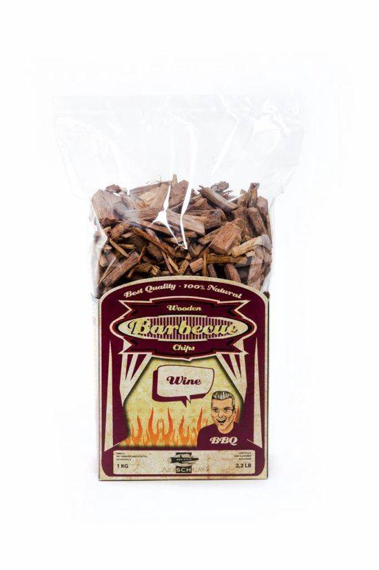 Axtschlag BBQ Wood Chips[Wine 1KG] - reid outdoors