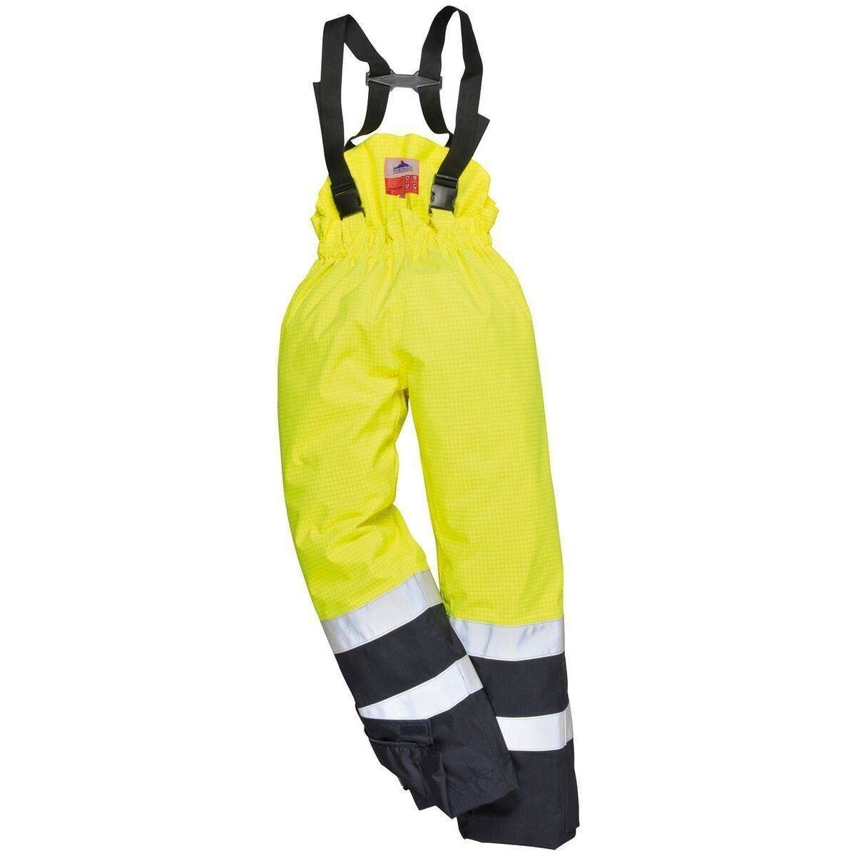 Portwest Bizflame Rain Hi Vis Multi-Protection Trouser S782 - reid outdoors