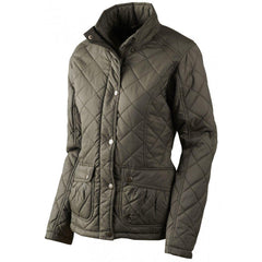 Seeland Cottage Quilt Ladies Jacket - Black Olive - reid outdoors