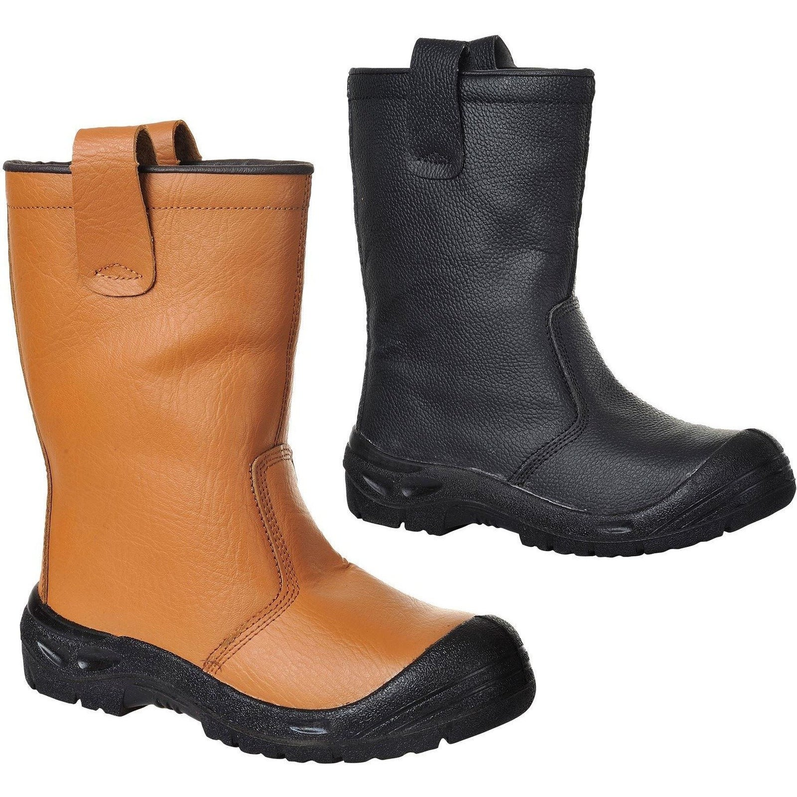 Portwest Steelite Rigger Boot Scuff Cap S3 CI - reid outdoors