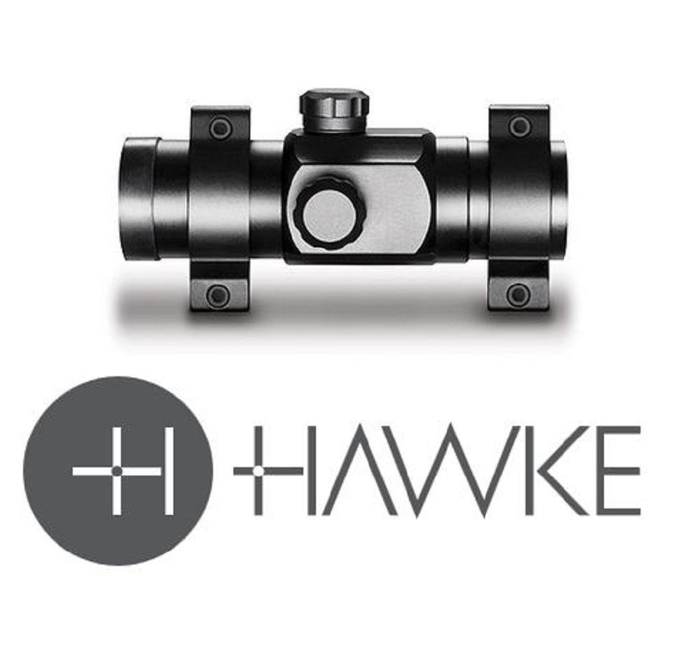 Hawke Red Dot 1x30 Weaver Rail - reid outdoors