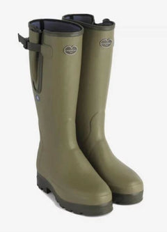 Le Chameau Verznord Plus Neoprene Men's Wellingtons-Green