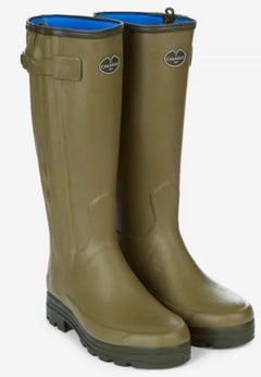 Le Chameau Chasseur Men's Neoprene Lined Full Zip Wellingtons