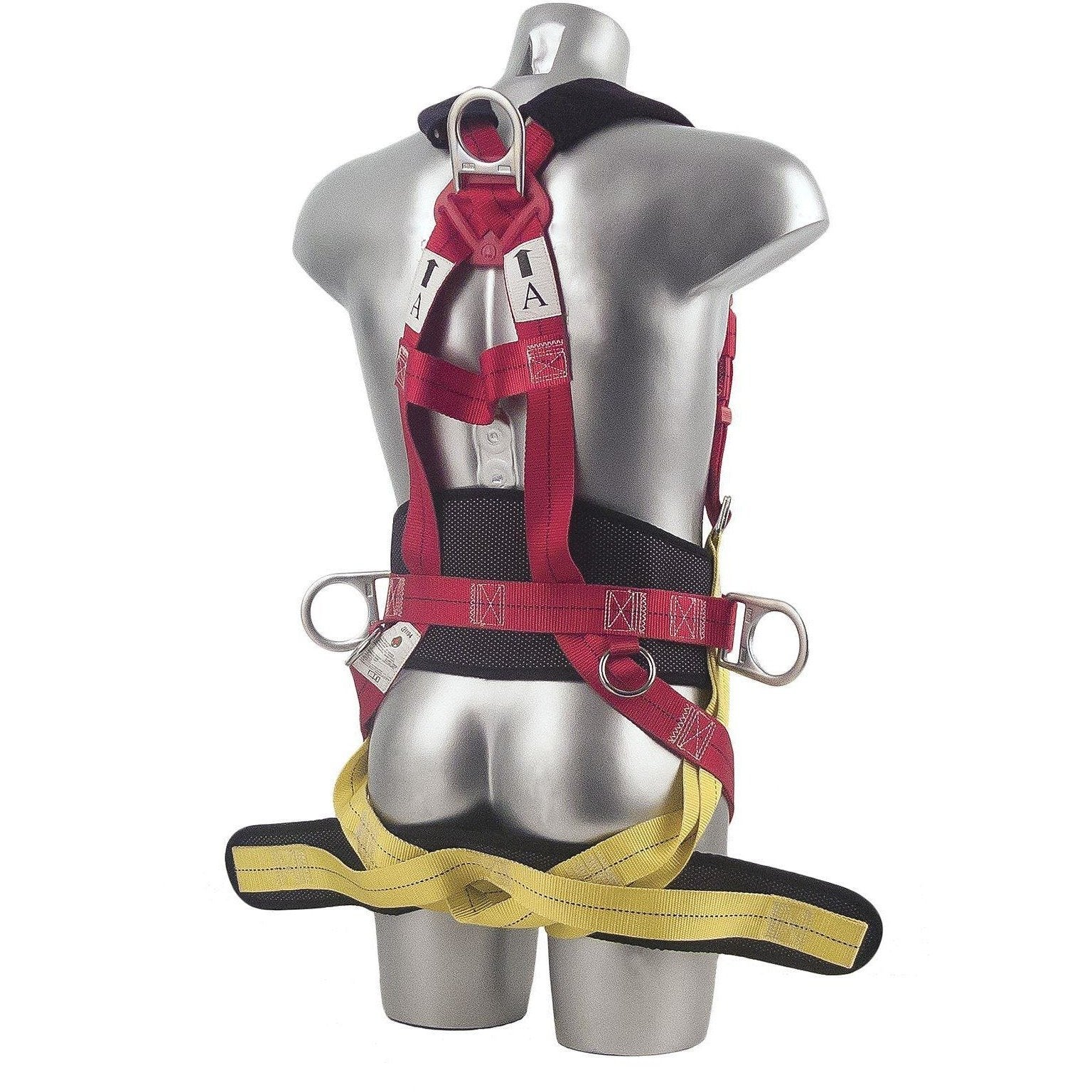 Portwest Portwest 3 Point Harness Comfort Plus Red One Size  FP18 - reid outdoors