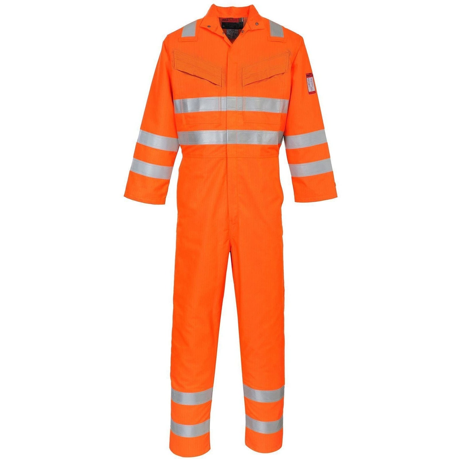 Araflame Hi-Vis Coverall - reid outdoors