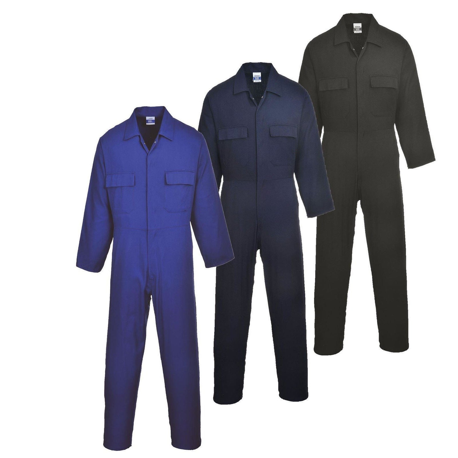 Portwest Euro Work Cotton Coverall S998 - reid outdoors