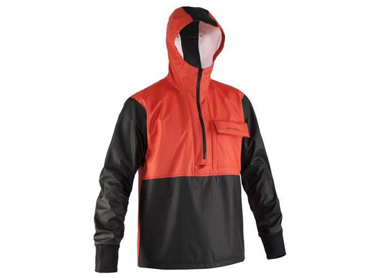 Grundens Neptune Anorak (103) Orange/Black - reid outdoors